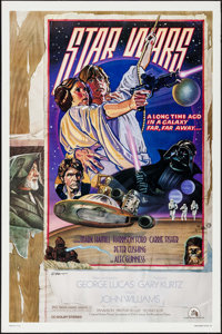 """Star Wars (20th Century Fox, 1977). One Sheet (27"""" X 41"""") Style D. Science Fiction"""