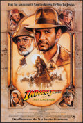 "Movie Posters:Action, Indiana Jones and the Last Crusade (Paramount, 1989). One Sheet(27"" X 40""). Advance. Action.. ..."