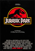 "Movie Posters:Science Fiction, Jurassic Park (Universal, 1993). One Sheet (26.75"" X 39.5"").Science Fiction.. ..."