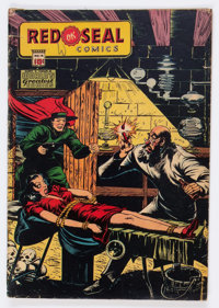 Red Seal Comics #14 (Chesler, 1945) Condition: VG-