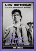 Music Memorabilia:Posters, Prince And The Revolution Ahoy Rotterdam Concert Poster (Mojo Concerts, 1986). Very Rare....