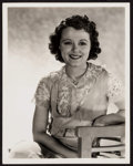 """Movie Posters:Miscellaneous, Janet Gaynor by George Hurrell & Other Lot (Fox, c. 1930s). Portrait Photos (2) (8"""" X 10"""" & 10.5"""" X 13.25""""). Miscellaneous.... (Total: 2 Items)"""