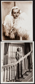 """Movie Posters:Miscellaneous, Carole Lombard (RKO, 1937). Photo (8.25"""" X 10"""") & Restrike Photo (7.5"""" X 9.75""""). Miscellaneous.. ... (Total: 2 Items)"""