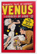 Golden Age (1938-1955):Romance, Venus #6 (Timely, 1949) Condition: VG+....