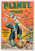 Golden Age (1938-1955):Science Fiction, Planet Comics #54 (Fiction House, 1948) Condition: VG....