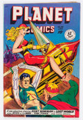 Golden Age (1938-1955):Science Fiction, Planet Comics #58 (Fiction House, 1949) Condition: VG/FN....