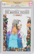 Modern Age (1980-Present):Superhero, The Marvels Project #1 Sketch Cover - Signature Series (Marvel,2009) CGC NM/MT 9.8 White pages....