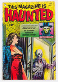 Golden Age (1938-1955):Horror, This Magazine Is Haunted #5 (Fawcett Publications, 1952) Condition:VG/FN....
