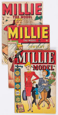 Golden Age (1938-1955):Romance, Millie the Model Group (Atlas, 1947-48).... (Total: 4 Comic Books)