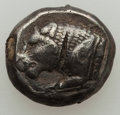 Ancients:Ancient Lots , Ancients: GROUP LOTS. Greek. Lot of three (3) early AR fractions.Fine-VF.... (Total: 3 coins)