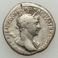 Ancients:Ancient Lots , Ancients: ANCIENT LOTS. Roman Imperial. Trajan. Lot of two (2) ARdenarii. Fine-about VF.... (Total: 2 coins)