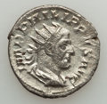 Ancients:Ancient Lots  , Ancients: ANCIENT LOTS. Roman Imperial. Philip I. Lot of four (4)AR antoniniani. VF-About XF.... (Total: 4 coins)