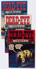Golden Age (1938-1955):Western, Dead-Eye Western Comics New Hampshire pedigree Group (HillmanPublications, 1949-52) Condition: Average VF.... (Total: 11 ComicBooks)