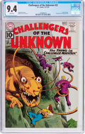 Silver Age (1956-1969):Science Fiction, Challengers of the Unknown #22 (DC, 1961) CGC NM 9.4 Whitepages....