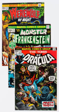 Bronze Age (1970-1979):Horror, Marvel Bronze Age Horror Group of 10 (Marvel, 1970s) Condition:Average VF.... (Total: 10 Comic Books)