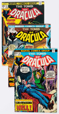 Bronze Age (1970-1979):Horror, Tomb of Dracula Group of 21 (Marvel, 1974-79) Condition: AverageFN.... (Total: 21 Comic Books)