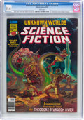 Magazines:Science-Fiction, Unknown Worlds of Science Fiction Special #1 (Marvel, 1976) CGC NM9.4 White pages....