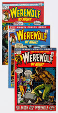 Bronze Age (1970-1979):Horror, Werewolf by Night Group of 23 (Marvel, 1972-77) Condition: AverageFN.... (Total: 23 Comic Books)