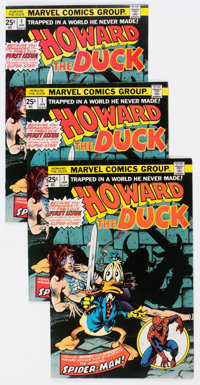 Howard the Duck Group of 16 (Marvel, 1976-78) Condition: Average FN.... (Total: 16 Comic Books)