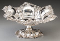 Silver Holloware, American:Bowls, A William B. Kerr & Co. Silver Footed Bowl with Clover Motif,Newark, New Jersey, early 20th century. Marks: STERLING,(...