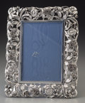 Silver Holloware, Continental:Holloware, An Italian Silver Picture Frame, late 20th century. Marks:925, (effaced), SILVER BY GRAND. 10-5/8 inches high x8-1...