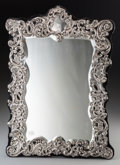 Silver Holloware, British, An English Silver Mirror Frame, Chester, England, 1902. Marks:(lion passant), (Chester shield), B, HI. 20-1/8 inche...