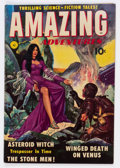 Golden Age (1938-1955):Science Fiction, Amazing Adventures #1 (Ziff-Davis, 1950) Condition: VG....