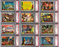 Non-Sport Cards:Sets, 1962 Topps Mars Attacks Complete Set (55) - #19 on the PSA SetRegistry. ...