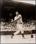 Autographs:Photos, Ted Williams Signed Oversized Photograph. Offered ...
