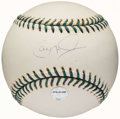 Autographs:Baseballs, Cal Ripken Jr. Single Signed Baseball - 2001 All Star GameBaseball. ...