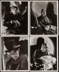 """Movie Posters:Horror, The Body Snatcher by Ernest A. Bachrach (RKO, 1945). Portrait Photos (4) (8"""" X 10""""). Horror.. ... (Total: 4 Items)"""