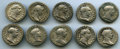 Ancients:Ancient Lots  , Ancients: ANCIENT LOTS. Roman Imperial. Trajan. Lot of ten (10) ARdenarii. Fine-VF.... (Total: 10 coins)