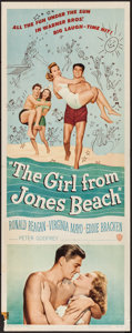 """Movie Posters:Comedy, The Girl from Jones Beach & Other Lot (Warner Brothers, 1949).Inserts (2) (14"""" X 36""""). Comedy.. ... (Total: 2 Items)"""