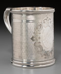 Silver Holloware, American:Cups, A Grosjean & Woodward Silver Christening Mug Retailed by Hayden& Whilden, Charleston, South Carolina, circa 1855-1863. Mark...