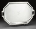 Silver Holloware, American:Trays, A Large Gorham-Durgin Silver Butler's Tray, Providence, RhodeIsland, circa 1910. Marks: GORHAM, STERLING, (scriptD...