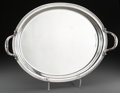 Silver Holloware, Continental:Holloware, A Large Buccellati Silver Serving Tray, Milan, 20th century. Marks:BUCCELLATI, STERLING, ITALY. 19-1/4 inches high x 27...