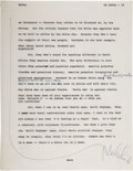 Autographs:Celebrities, Malcolm X Signed Typescript Page from Alex Haley's PlayboyMagazine Interview....