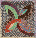 Fine Art - Work on Paper:Print, Frank Stella (b. 1936). Polar Coordinates I, 1980. Offsetlithograph and screenprint in colors on Arches Cover paper. 38...