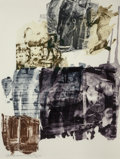 Prints & Multiples, Robert Rauschenberg (1925-2008). Eagle Eye, from Ruminations series, 1999. Intaglio and etching in colors on Arc...