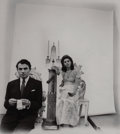 Photographs, Arnold Newman (American, 1918-2006). James and Pamela Mason, N.Y.C., 1946. Gelatin silver. 11-1/4 x 9-7/8 inches (28.6 x...