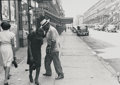 Photographs, Helen Levitt (American, 1913-2009). Harlem and the West Side (three photographs), circa 1940. Gelatin silver, printed 19... (Total: 3 Items)