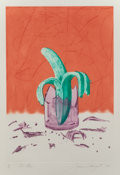 Fine Art - Work on Paper:Print, James Rosenquist (1933-2017). On Stage, from The GlassWishes series, 1982. Etching and aquatint in colors onSo...