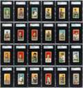 Baseball Cards:Sets, 1909-11 T206 White Borders Partial Set (398 Different). ...