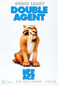 "Memorabilia:Poster, Ice Age ""Diego"" Lobby Banner Movie Poster (20th Century Fox,2002)...."