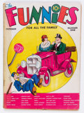 Platinum Age (1897-1937):Miscellaneous, The Funnies #1 (Dell, 1936) Condition: GD-....