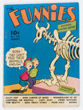 Golden Age (1938-1955):Miscellaneous, The Funnies #34 (Dell, 1939) Condition: VG-....