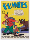 Golden Age (1938-1955):Miscellaneous, The Funnies #33 (Dell, 1939) Condition: GD/VG....