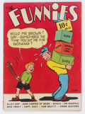 Golden Age (1938-1955):Adventure, The Funnies #32 (Dell, 1939) Condition: GD....