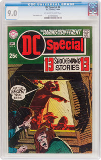 DC Special #4 (DC, 1969) CGC VF/NM 9.0 Off-white to white pages