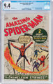 The Amazing Spider-Man #1 (Marvel, 1963) CGC NM 9.4 Off-white to white pages